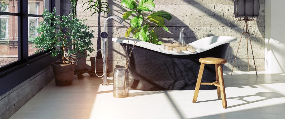 Illustration Fenetre de salle de bain - comment se protéger des regards